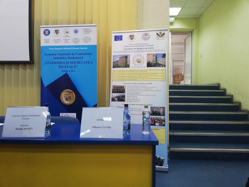Experiența mea la Sesiunea Națională de Comunicări Științifice Studențești – UPG Ploiești